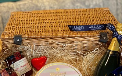 Valentine's Hampers Available Now