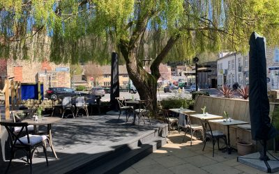 Restaurant Opens for Outdoor Lunches